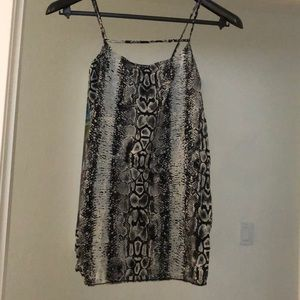 Snakeskin Motel Mini Dress